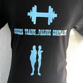 Success trains Failure complaints - Black T Shirt