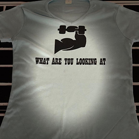 What Are You Looking At - Grey T Shirt